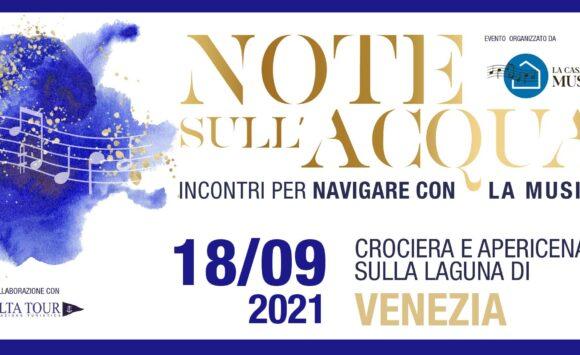 Note sull'acqua – Crociera e apericena sulla laguna di Venezia